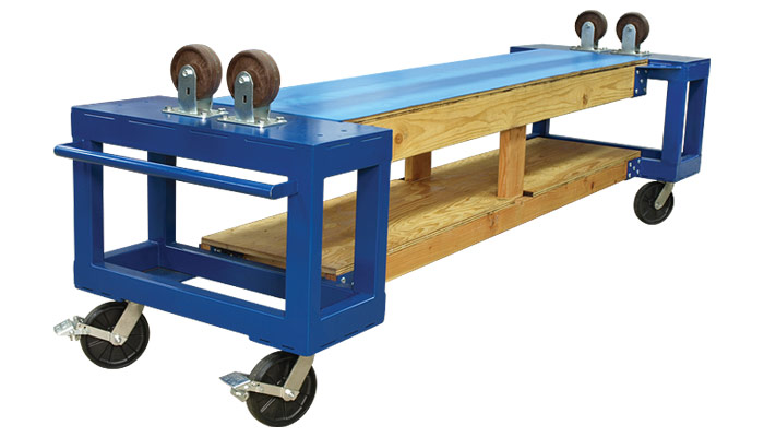 WPR Tuning Cart with All-wood Center Section